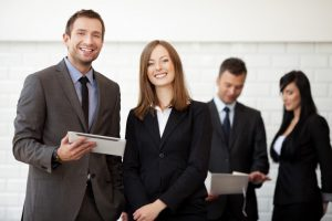 professionals on financial industry