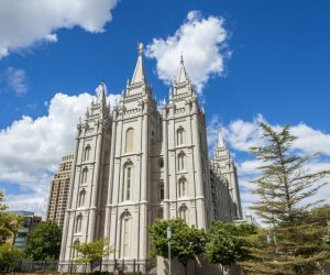 The Church of Jesus Christ of Latter-day Saints' Temple, Salt Lake City, Utah