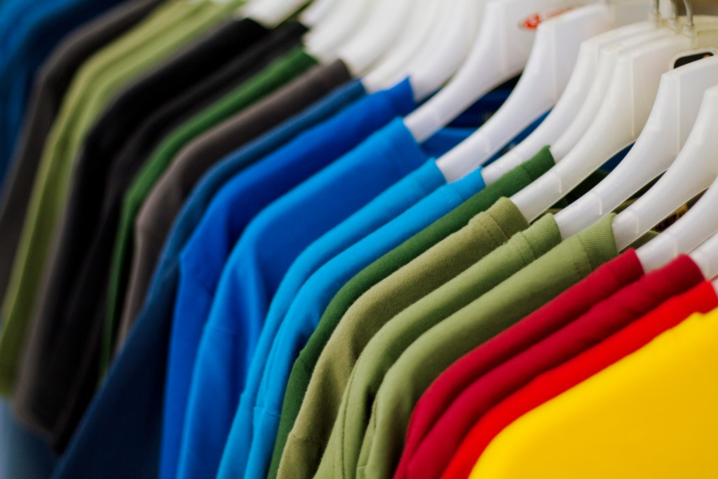Different Colored Shirts