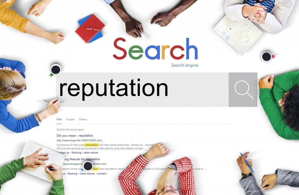 reputation google search