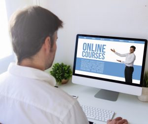 taking an online course