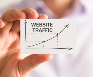 website traffic concept