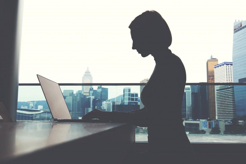 entrepreneur silhouette