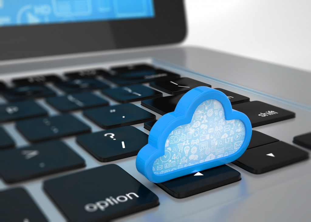 using the cloud as data storage